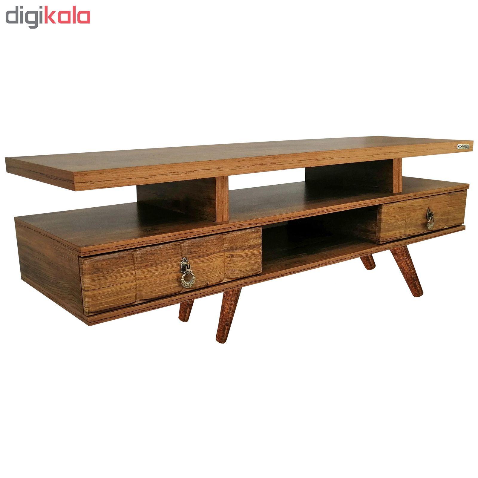 میز تلویزیون کاریزما وود مدل A.KM208 main 1 1