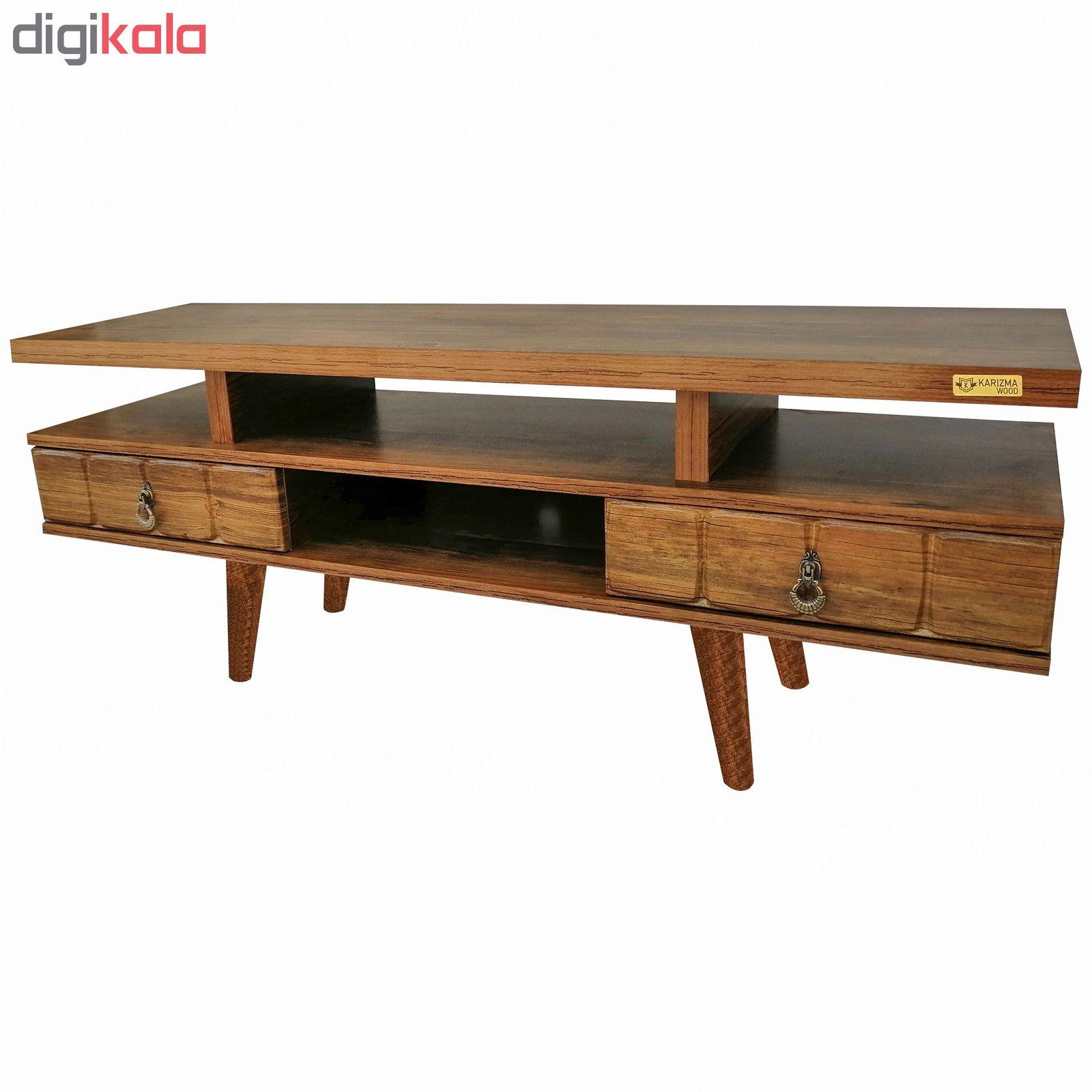 میز تلویزیون کاریزما وود مدل A.KM208 main 1 3