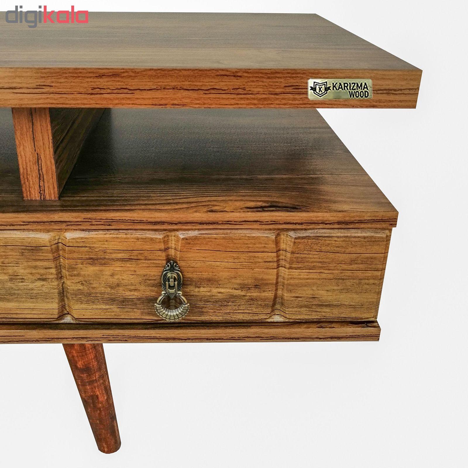 میز تلویزیون کاریزما وود مدل A.KM208 main 1 4