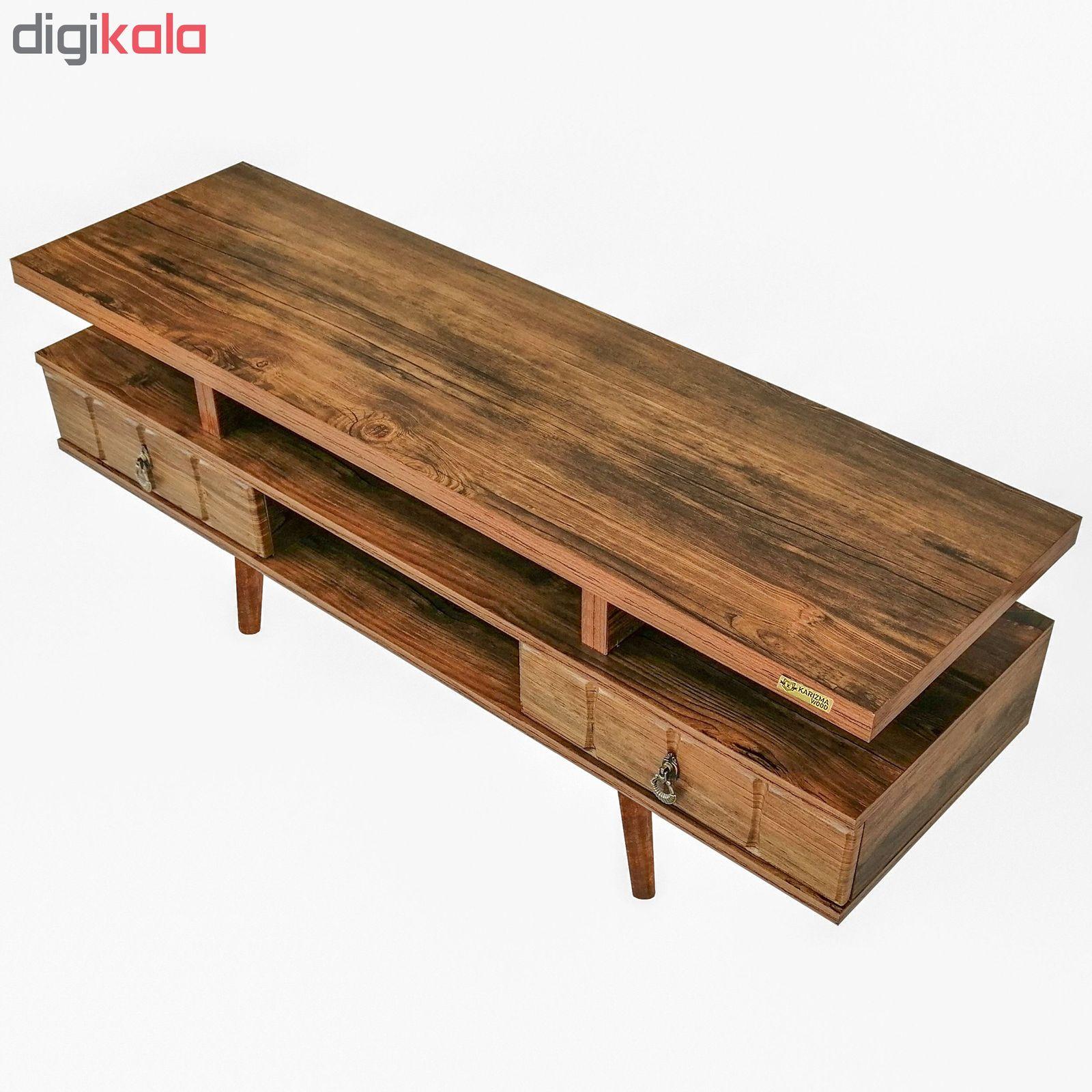 میز تلویزیون کاریزما وود مدل A.KM208 main 1 7