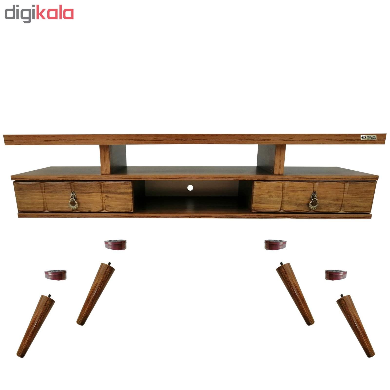 میز تلویزیون کاریزما وود مدل A.KM208 main 1 5
