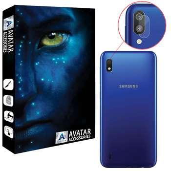 محافظ لنز دوربین آواتار مدل  LNZ-GLS-SA10-1 مناسب برای گوشی موبایل سامسونگ Galaxy A10