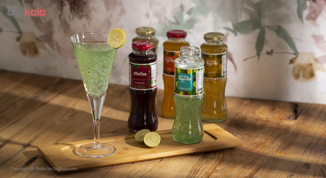 نوشیدنی دانه ریحان با طعم لیمو و نعنا ماتینا حجم 0.28 لیتر main 1 6