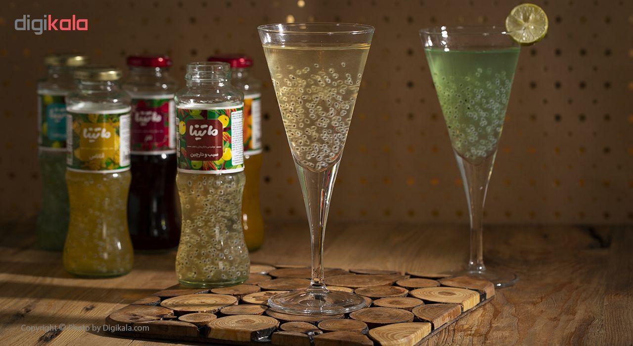 نوشیدنی دانه ریحان با طعم سیب و دارچین ماتینا حجم 0.28 لیتر main 1 5