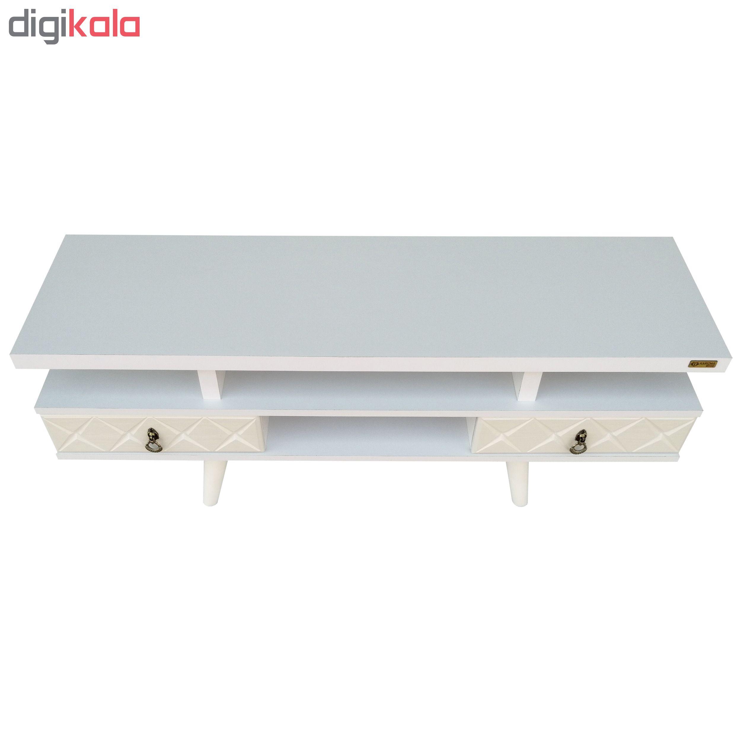 میز تلویزیون کاریزما وود مدل W.KS208