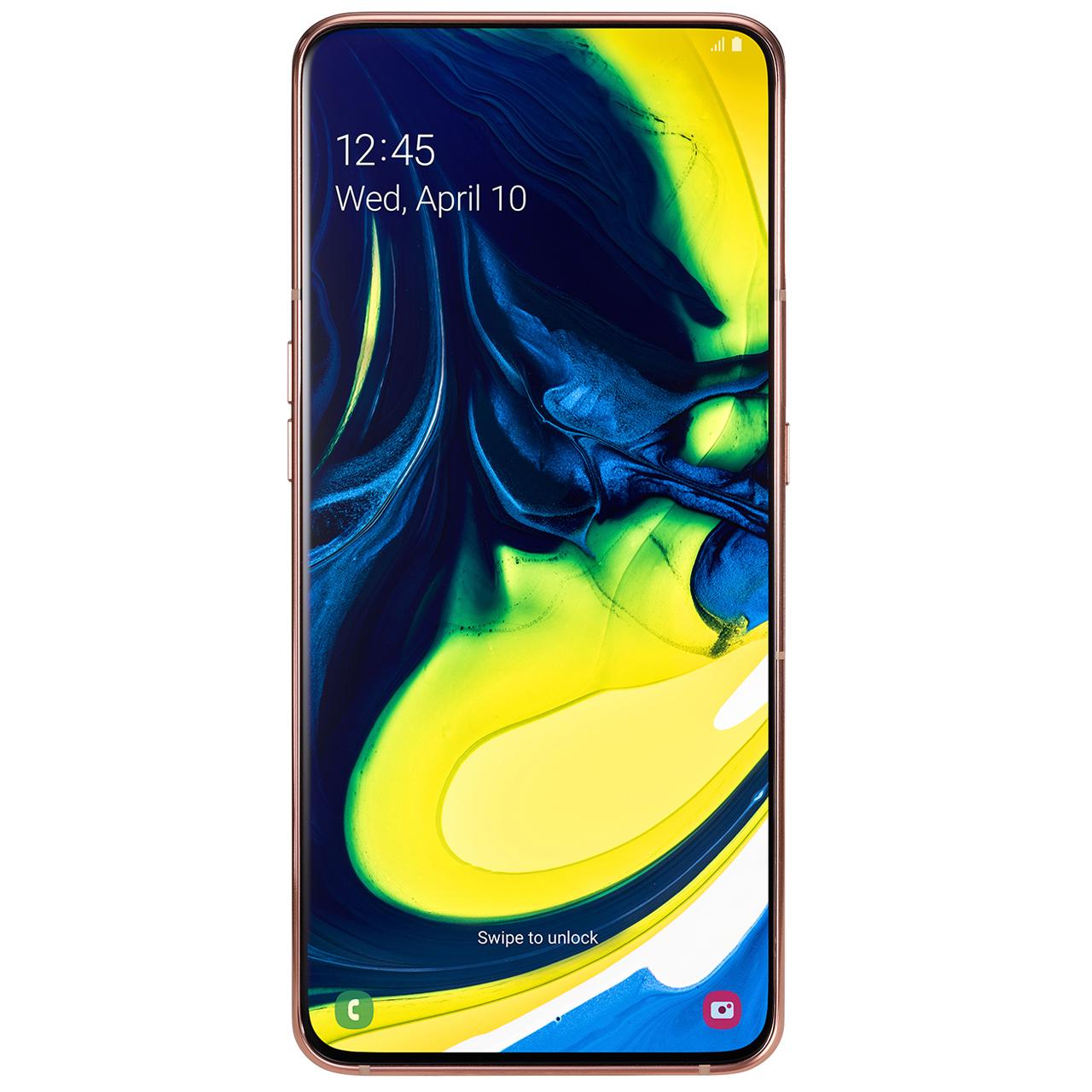 مشخصات و قیمت                     گوشی موبایل سامسونگ مدل Galaxy A80 SM-A805F/DS دو سیمکارت ظرفیت ۱۲۸ گیگابایت