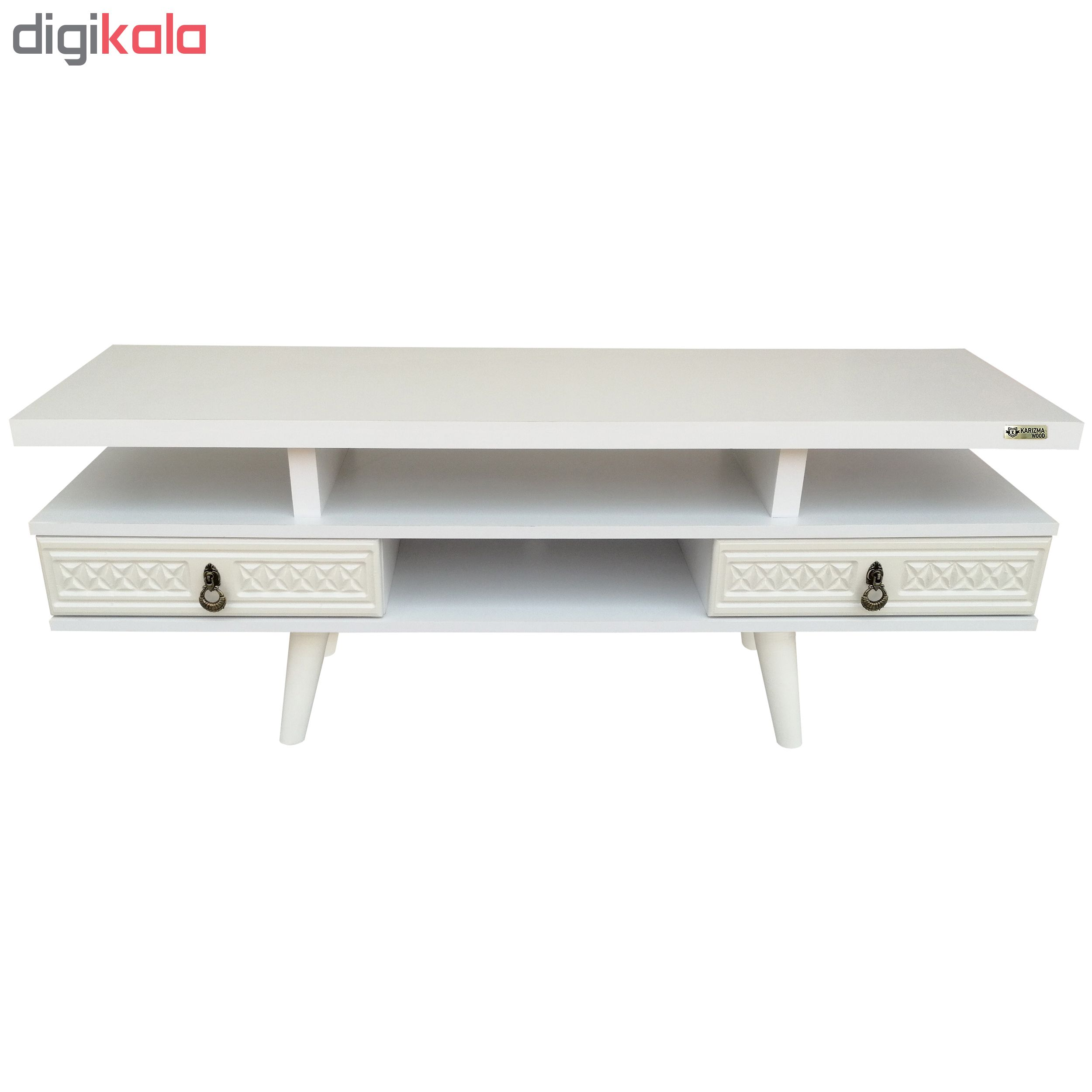 میز تلویزیون کاریزما وود مدل W.KSh208