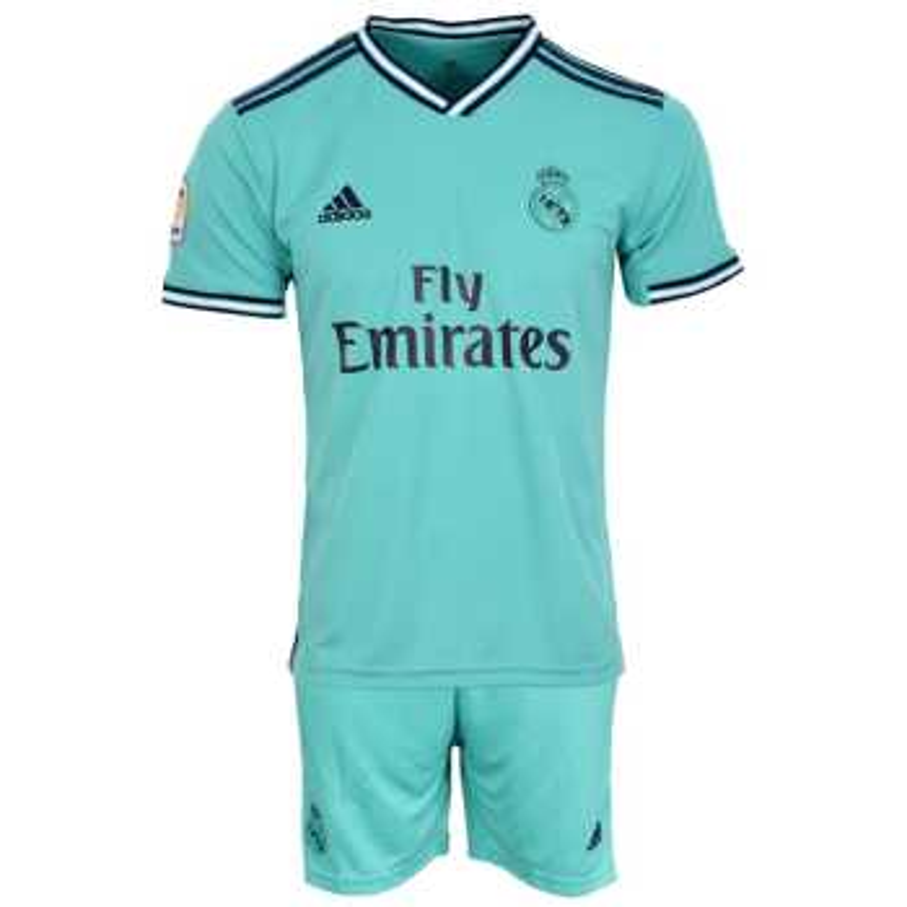 ست تیشرت و شلوارک ورزشی مردانه طرح رئال مادرید کد 2019.20 رنگ سبز |