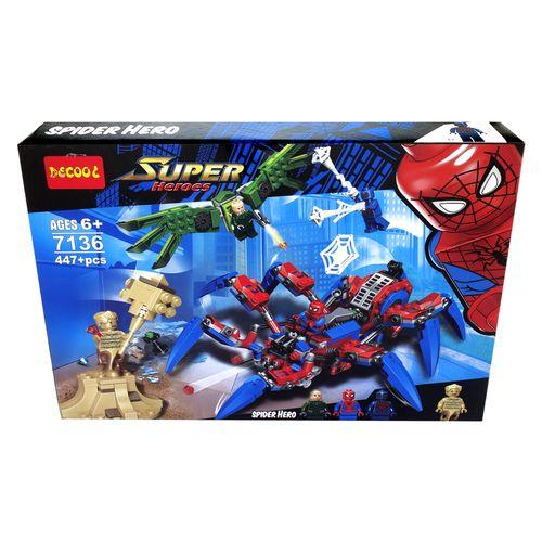 ساختنی دکول طرح مرد عنکبوتی کد 7136