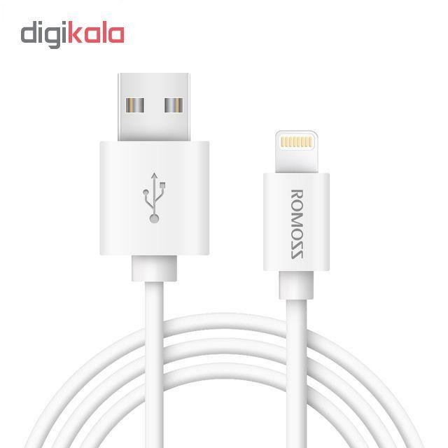 کابل تبدیل USB به لایتنینگ روموس مدل CB12 طول 1 متر main 1 1