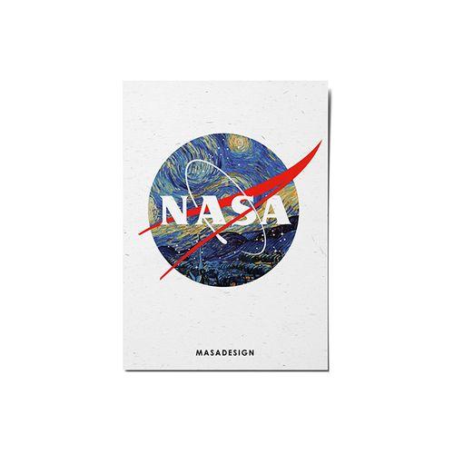 کارت پستال ماسا دیزاین طرح ناسا کد POST36