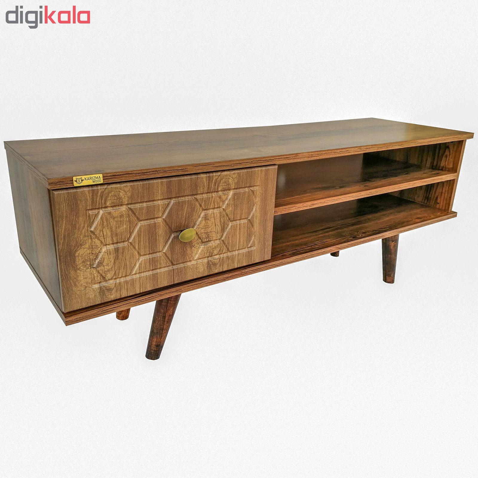میز تلویزیون کاریزما وود مدل A205 main 1 1