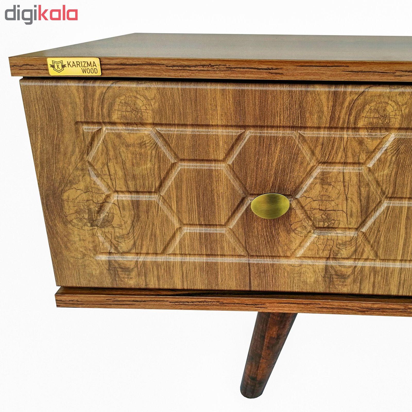 میز تلویزیون کاریزما وود مدل A205 main 1 4