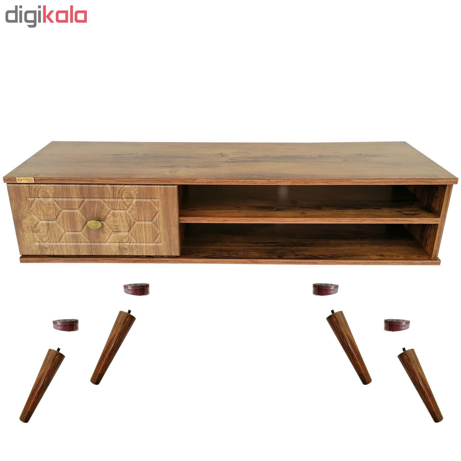 میز تلویزیون کاریزما وود مدل A205 main 1 5