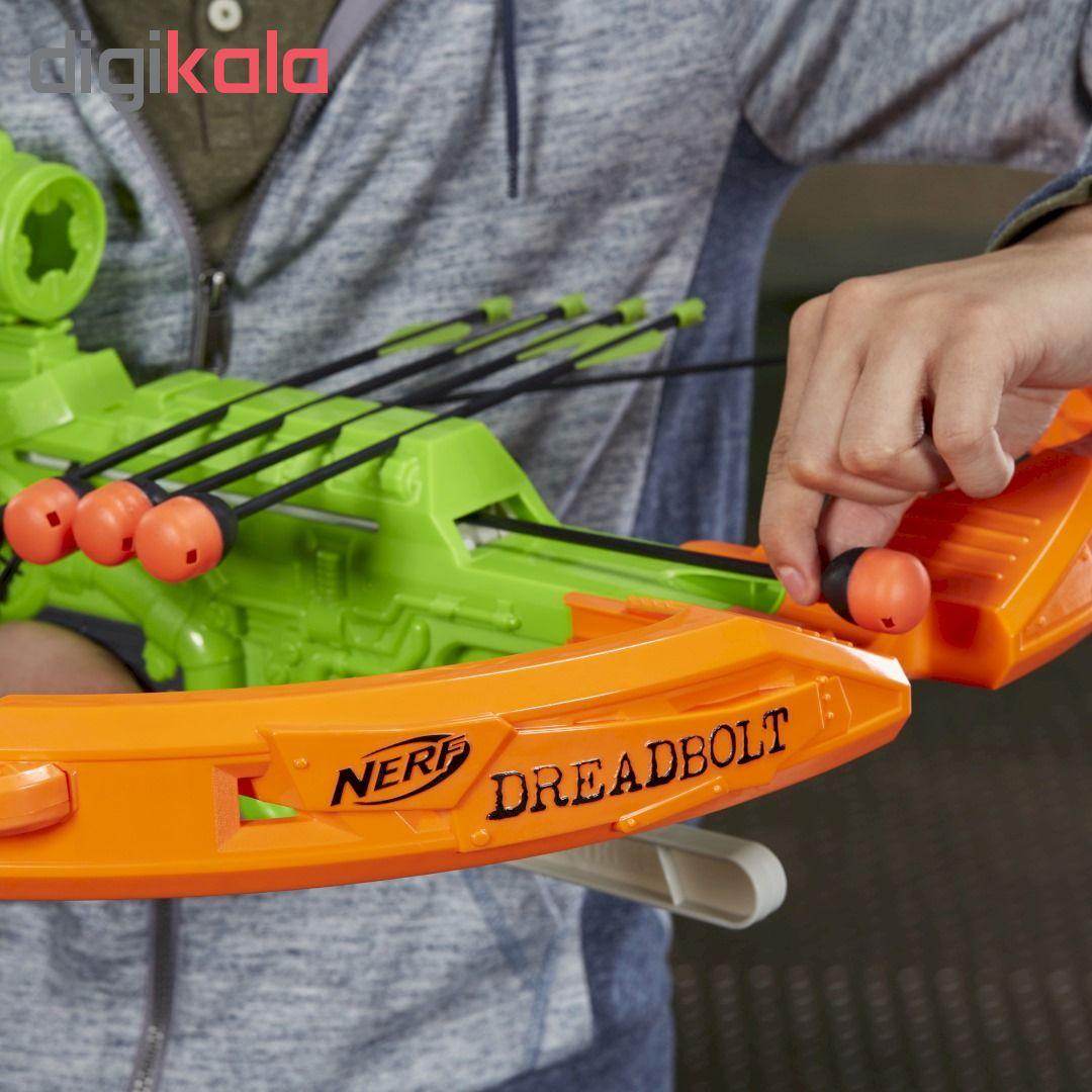 تیر و کمان نرف مدل Zombie Strike Dreadbolt main 1 3