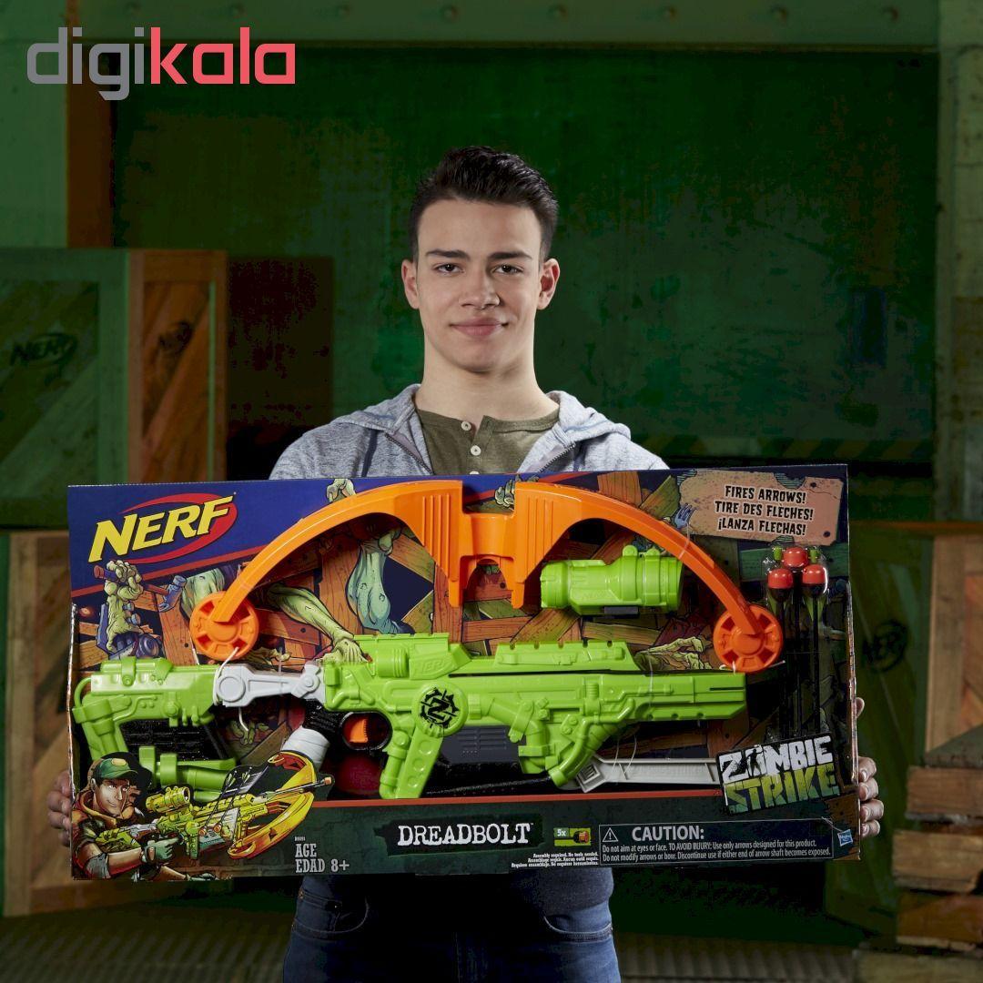 تیر و کمان نرف مدل Zombie Strike Dreadbolt main 1 4
