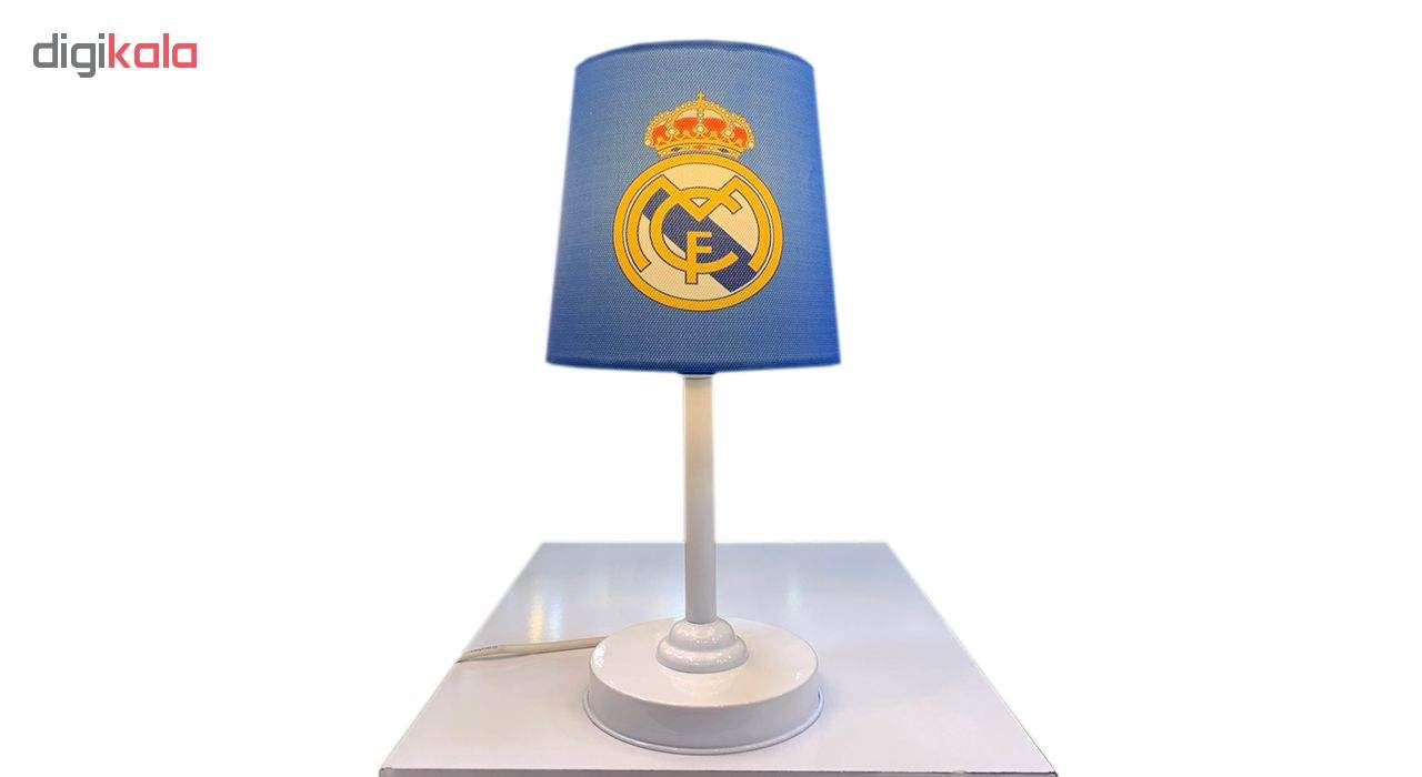 چراغ رومیزی کودک طرح رئال مادرید1 به همراه چراغ آویز