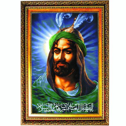 تابلو طرح حضرت عباس (ع) کد AM1139