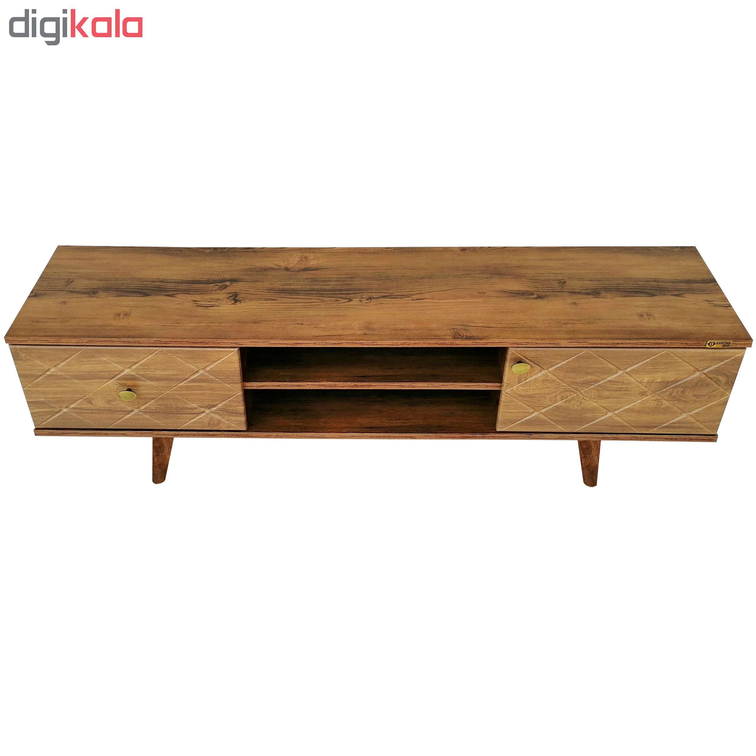 میز تلویزیون کاریزما وود مدل A212