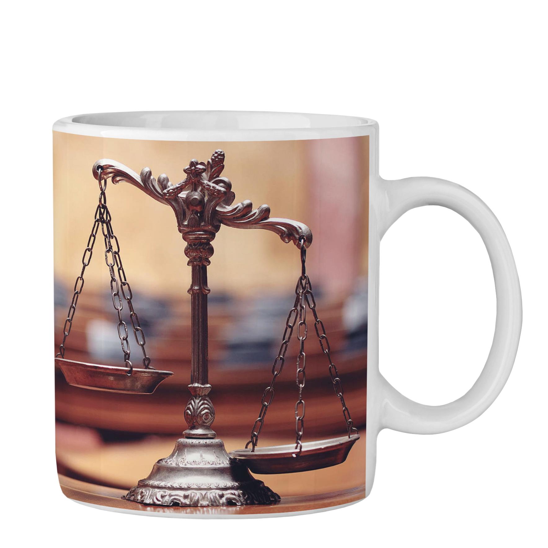 عکس ماگ طرح وکیل کد 0141