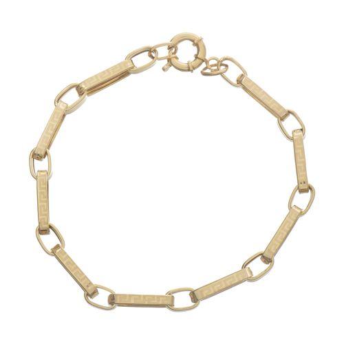 دستبند طلا 18 عیار زنانه کد TG115