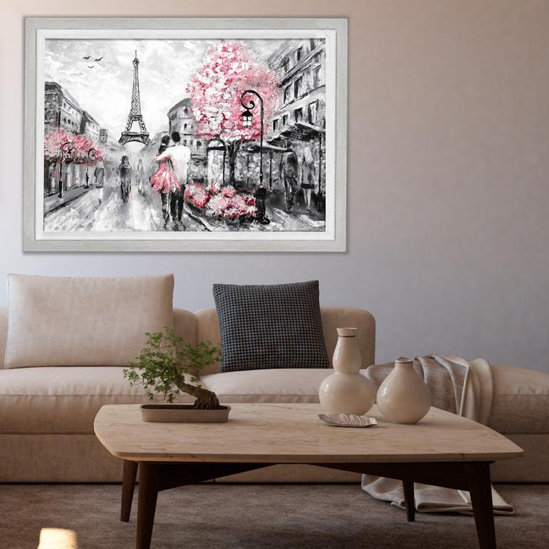 تابلو طرح عاشقانه های پاریس کد 333