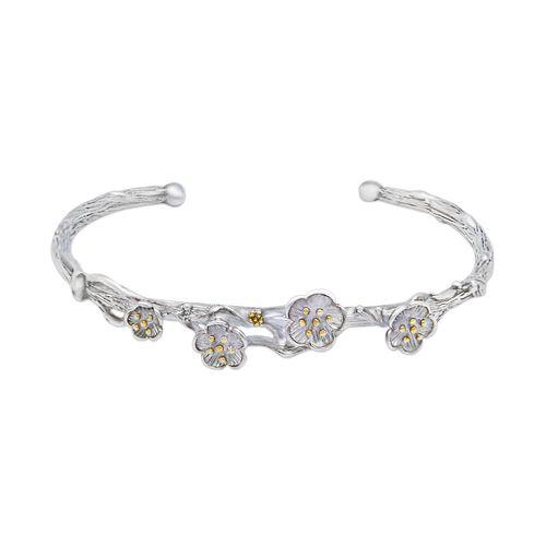 دستبند نقره زنانه کد LSB01