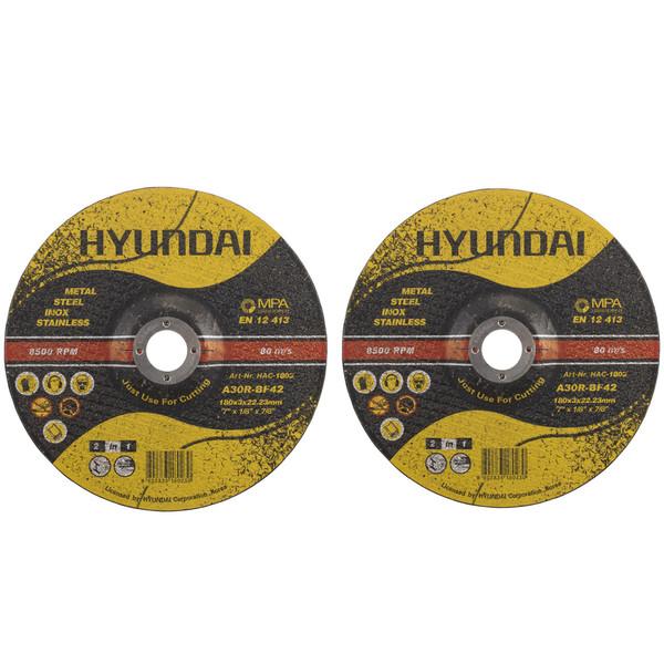 صفحه برش فلز هیوندای کد HAC-1803 مجموعه 2 عددی