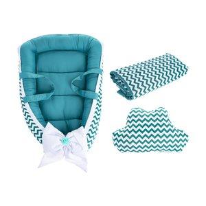 سرویس 3 تکه خواب نوزادی مدل Zigzag