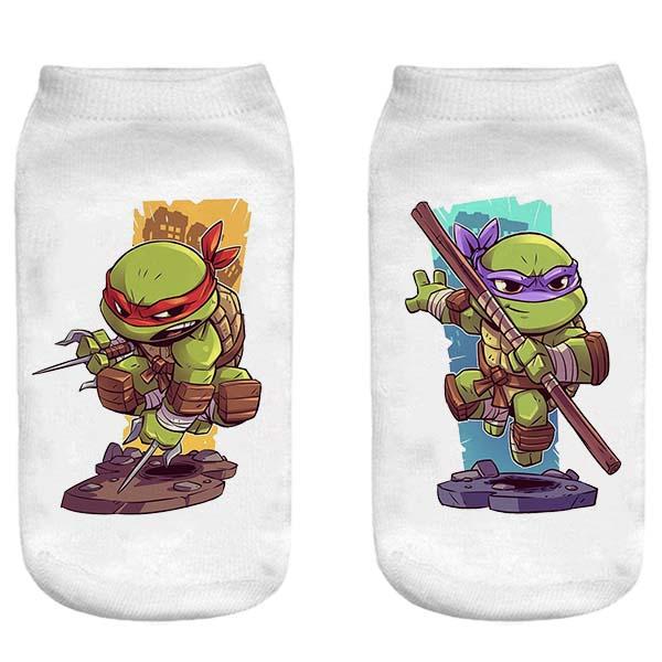 جوراب پسرانه طرح Ninja Turtles کد 10001