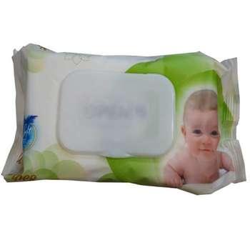 دستمال مرطوب کودکان بانیو مدل sl31 بسته 60 عددی