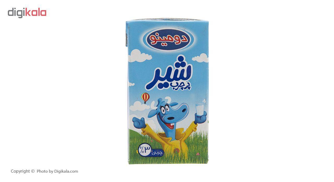 شیر پرچرب دومینو حجم 125 میلی لیتر بسته 12 عددی main 1 3