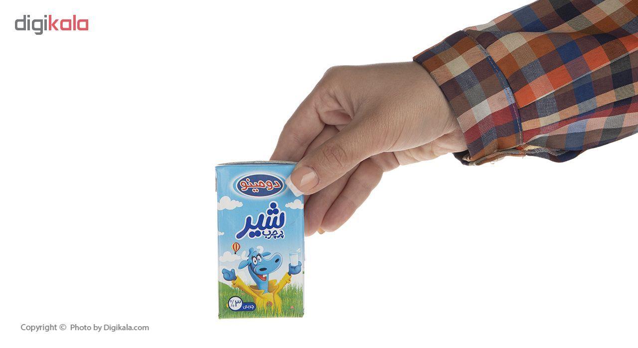 شیر پرچرب دومینو حجم 125 میلی لیتر بسته 12 عددی main 1 5