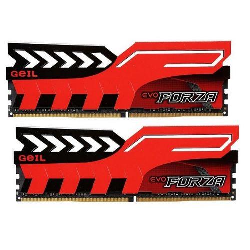 رم دسکتاپ DDR4 دو کاناله 3200 مگاهرتز CL16 گیل مدل Evo Forza ظرفیت 16 گیگابایت