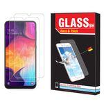 محافظ صفحه نمایش Hard and thick مدل f-01 مناسب برای گوشی موبایل سامسونگ Galaxy A50 مجوعه دو عددی thumb