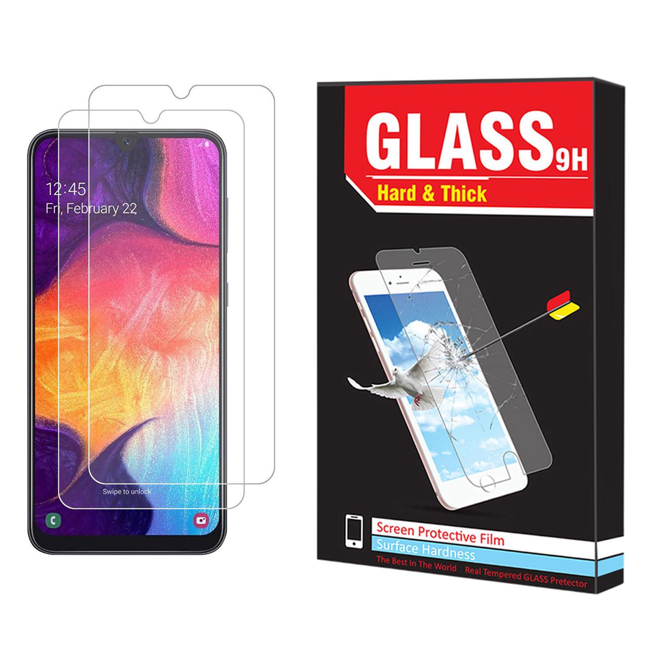 محافظ صفحه نمایش Hard and thick مدل f-01 مناسب برای گوشی موبایل سامسونگ Galaxy A50 مجوعه دو عددی