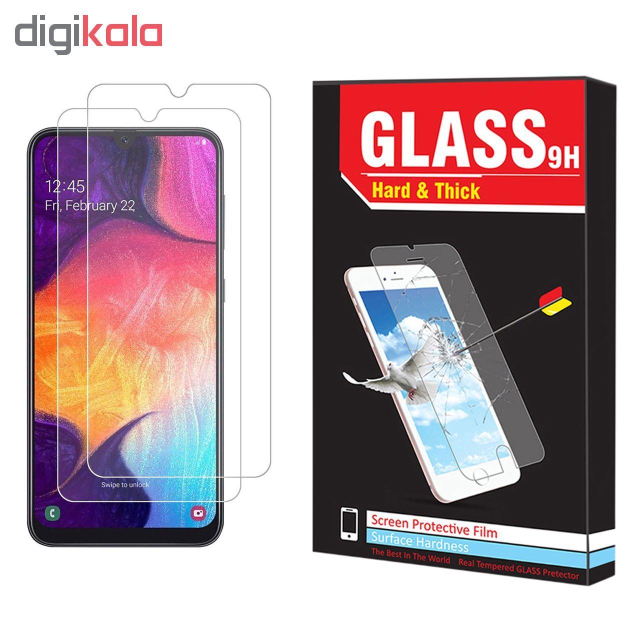 محافظ صفحه نمایش Hard and thick مدل f-01 مناسب برای گوشی موبایل سامسونگ Galaxy A50 مجوعه دو عددی main 1 1