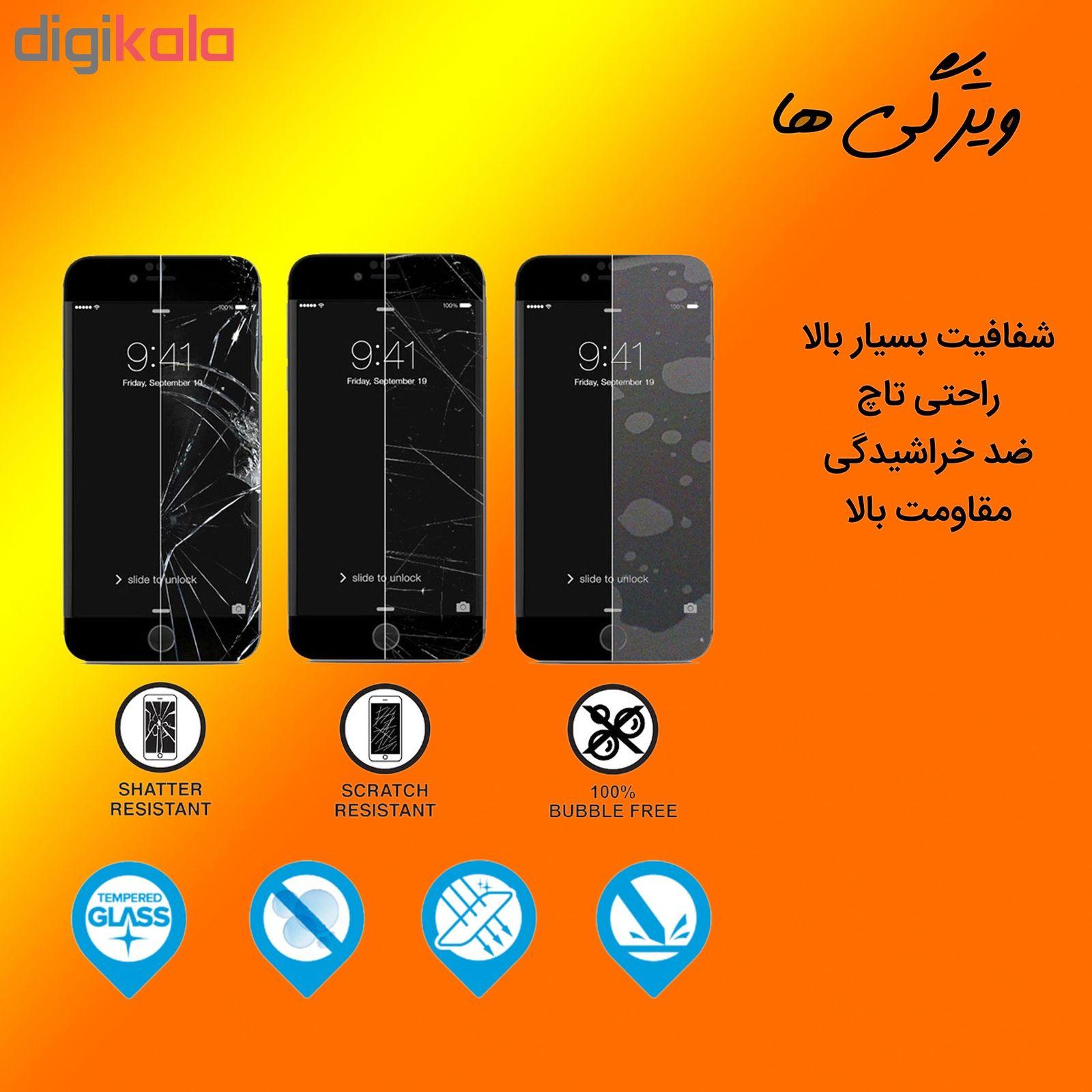 محافظ صفحه نمایش Hard and thick مدل f-01 مناسب برای گوشی موبایل سامسونگ Galaxy A50 مجوعه دو عددی main 1 3
