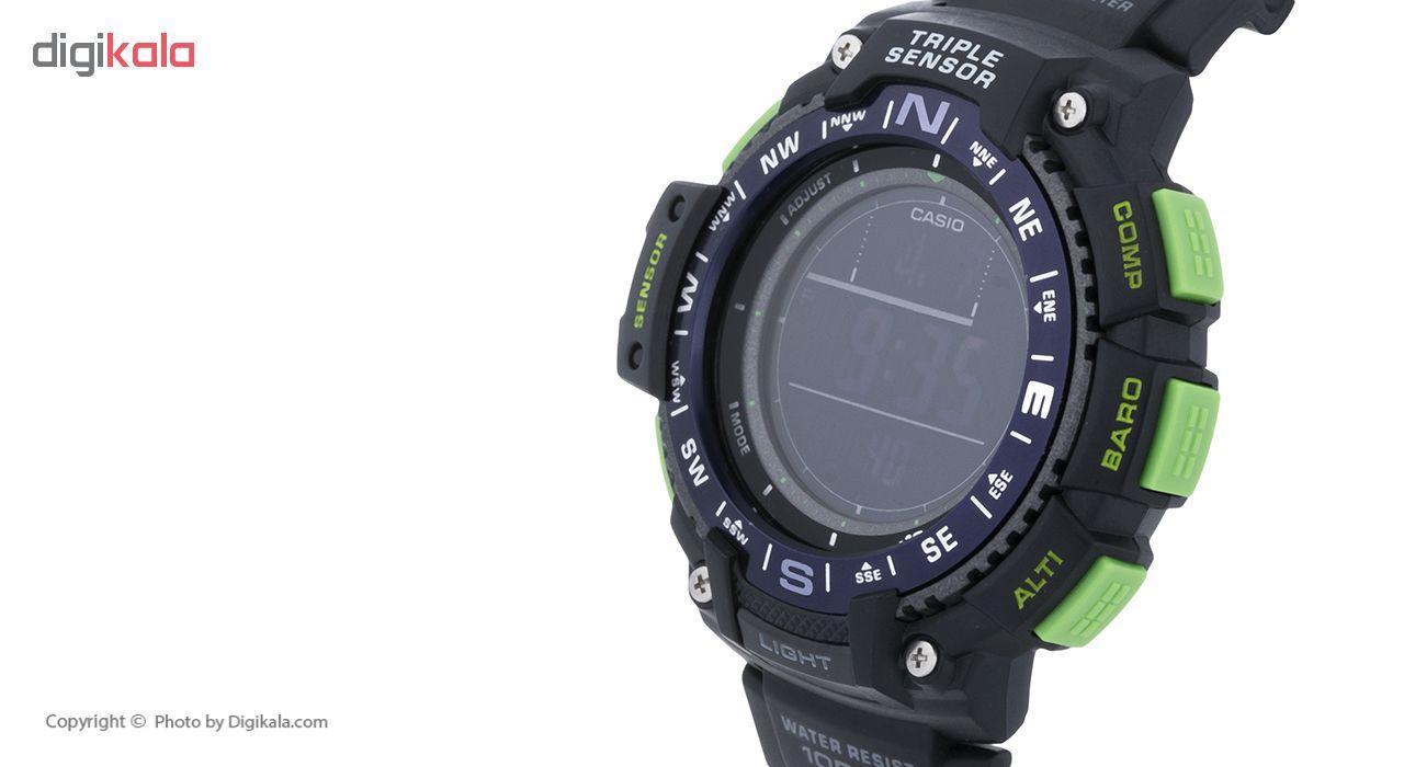 ساعت دیجیتال مردانه کاسیو مدل sgw-1000-2b