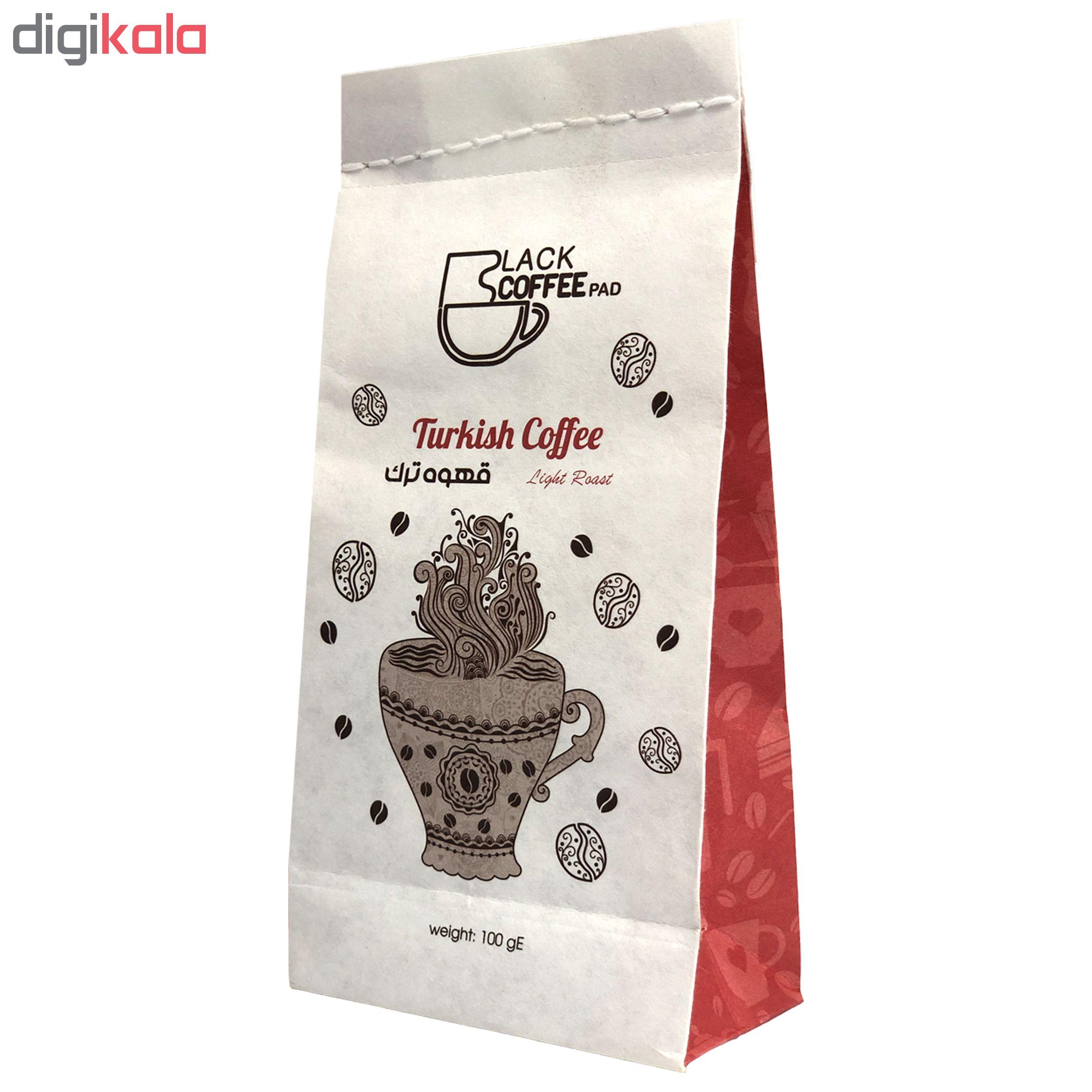 قهوه ترک لایت بلک کافی کد Tl16 مقدار 100 گرم