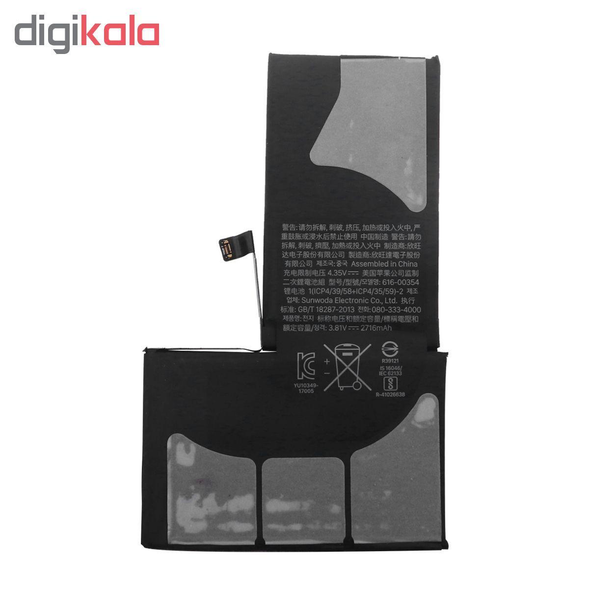 باتری موبایل مدل APN 616-00351 ظرفیت 2716 میلی آمپر ساعت مناسب برای گوشی موبایل اپل Iphone X main 1 2