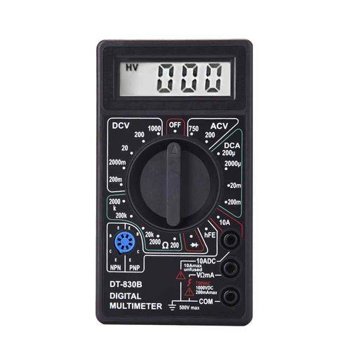 مولتی متر دیجیتال مدل DT-830B