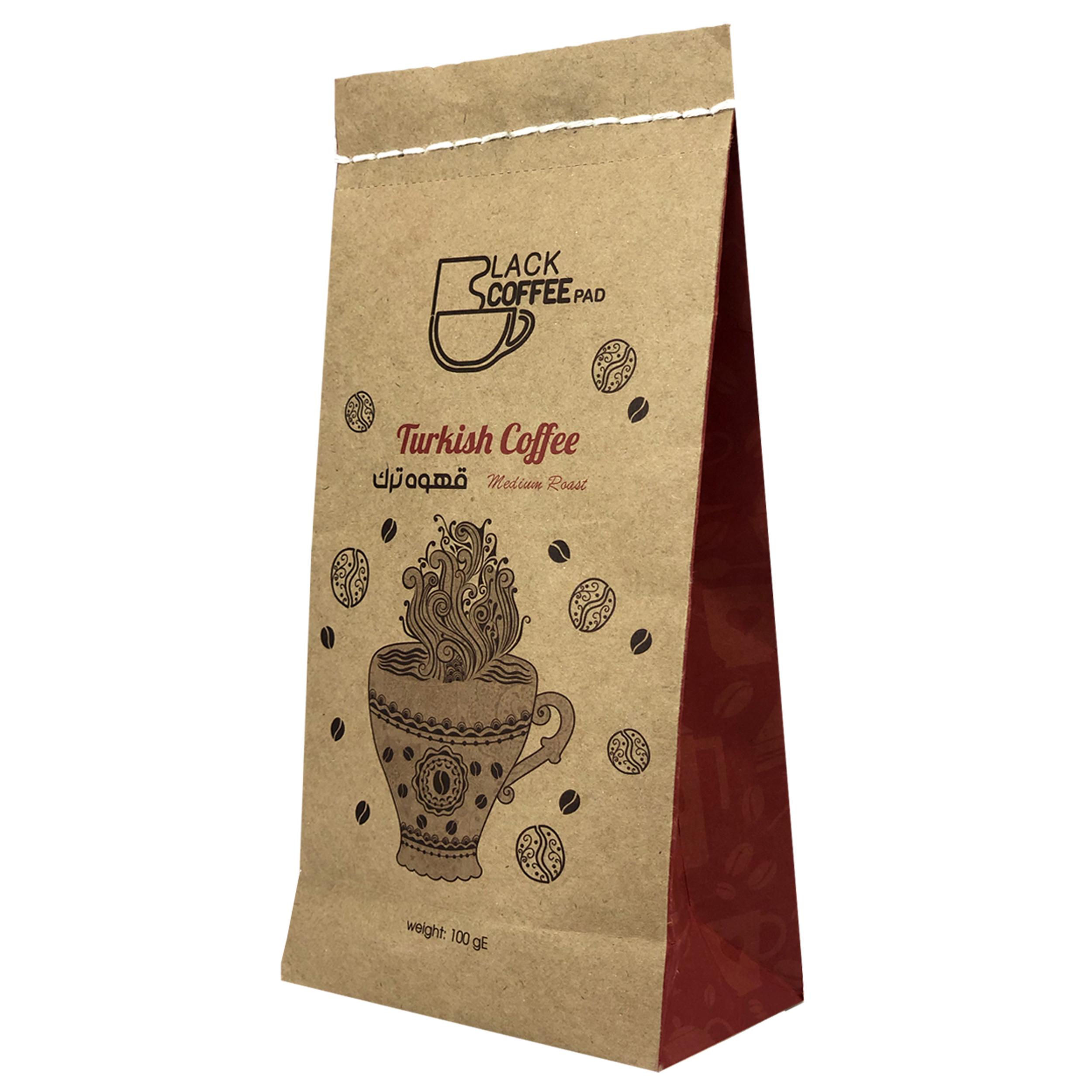 قهوه ترک مدیوم بلک کافی کد Tm13 مقدار 100 گرم