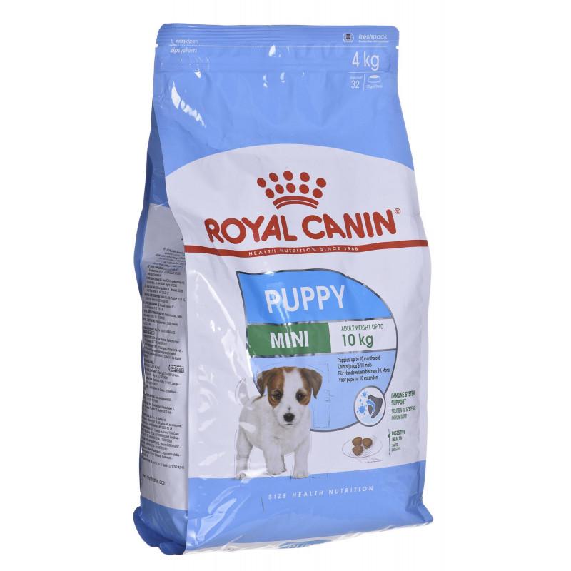 غذای خشک سگ رویال کنین مدل PUPPY MINI  وزن 4 کیلوگرم