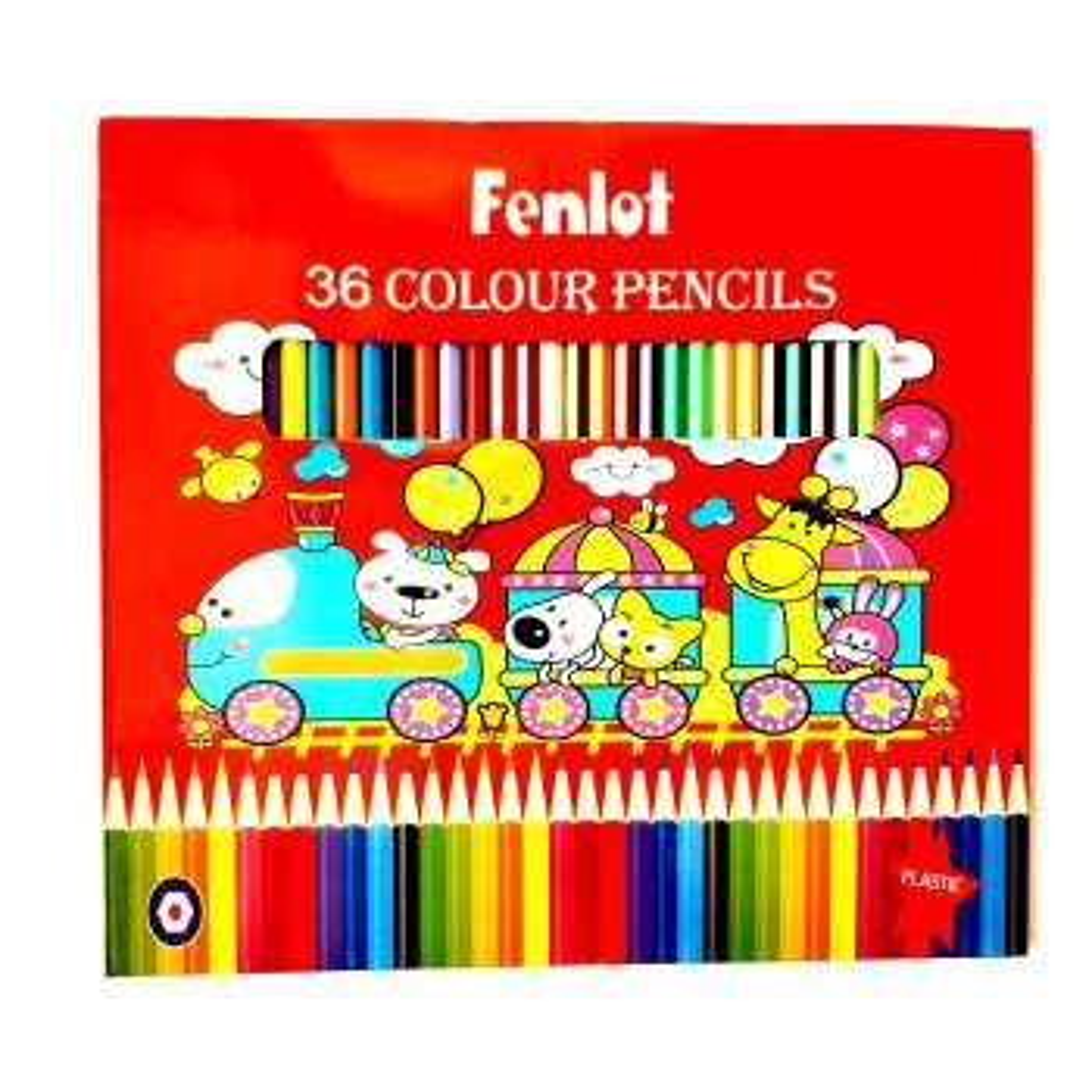 مداد رنگی 36 رنگ فنلوت مدل FCP04