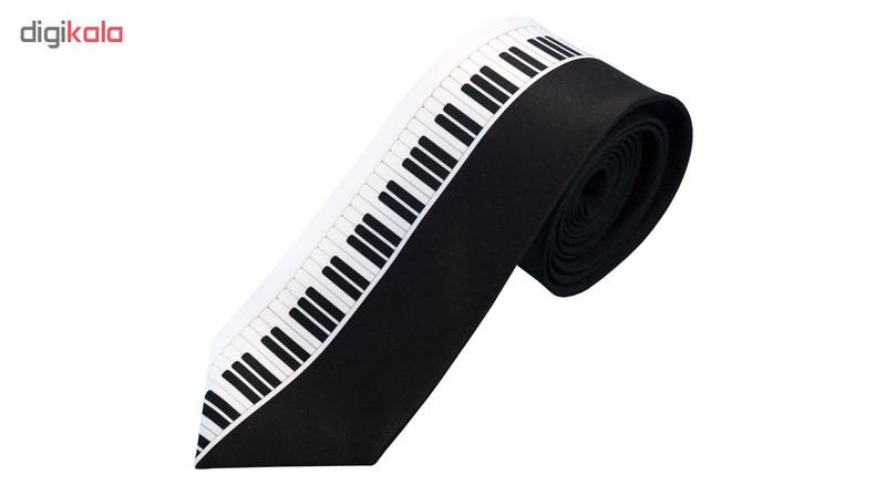 کراوات مردانه طرح پیانو کد 01