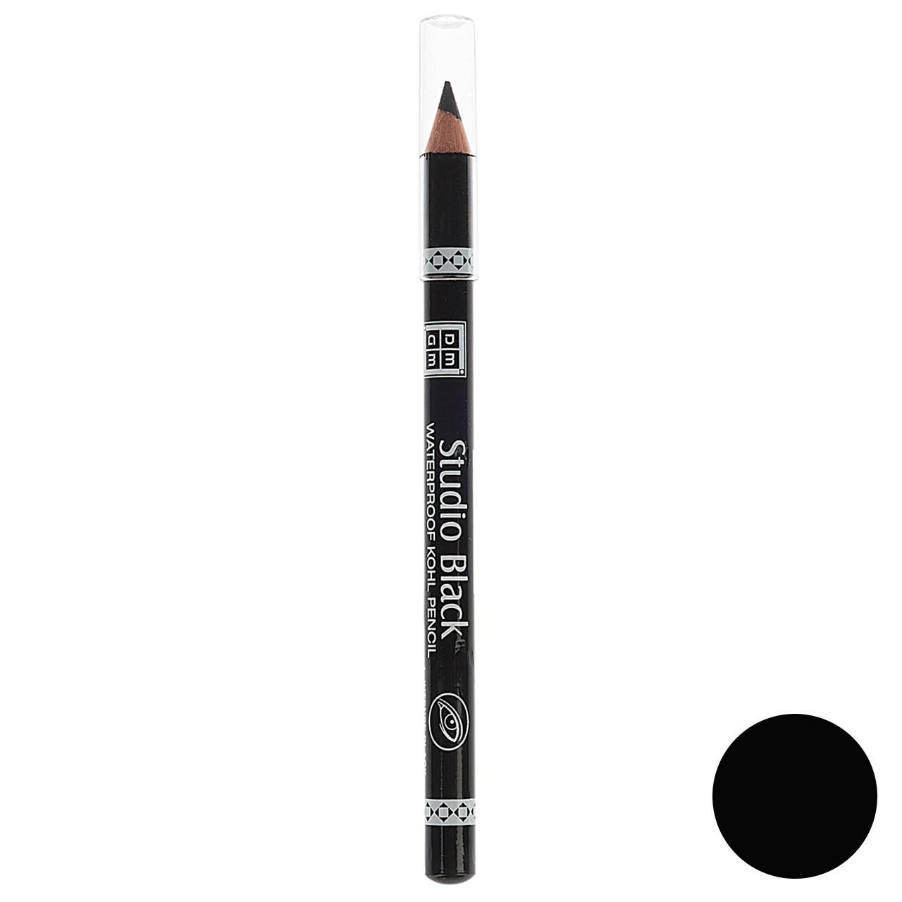 مداد چشم دی ام جی ام مدل Studio Black