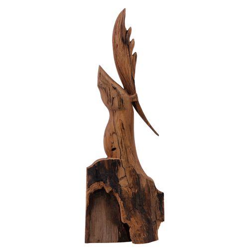 مجسمه طرح گوزن شاخ دار کد sowag-wa-042