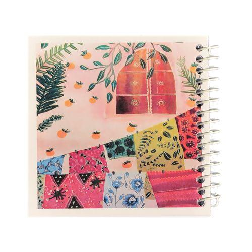 دفتر یادداشت ژوست طرح حیاط خانه مدل کژوال کد ۰۱