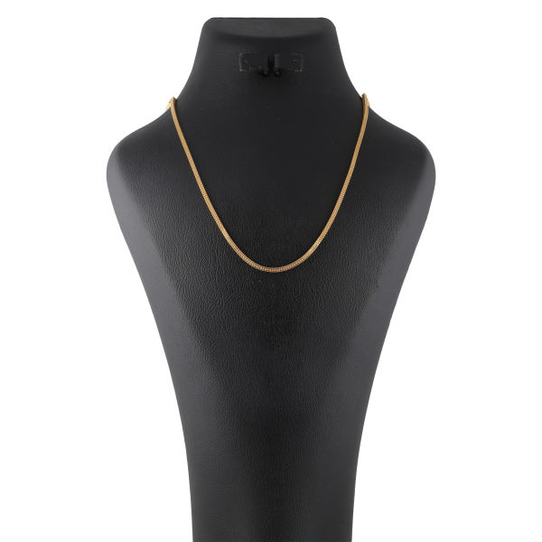 زنجیر طلا 18 عیار زنانه کد G494